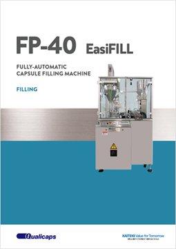 Capsule filling machine (funnel method): FP-40 EasiFILL
