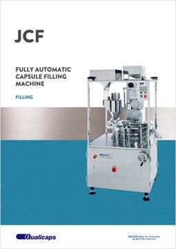 Fully-automatic capsule filling machine (auger method): LIQFIL Super JCF