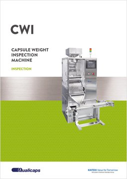 Capsule weight inspection machines: CWI Series